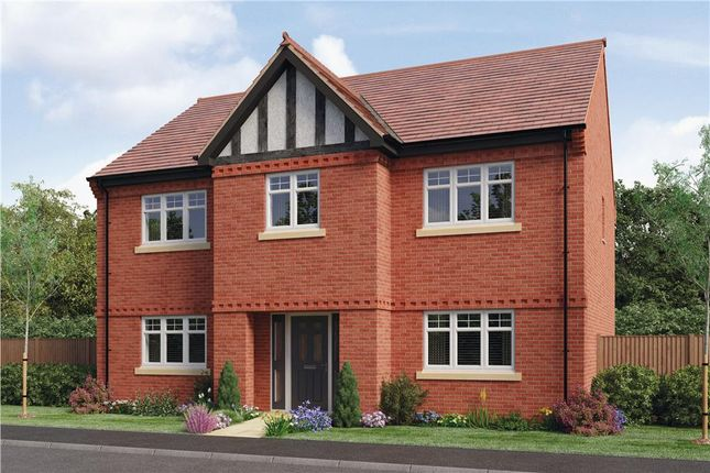 "Thumbnail Detached house for sale in ""Charlesworth"" at Woodcock Way, Ashby-De-La-Zouch"