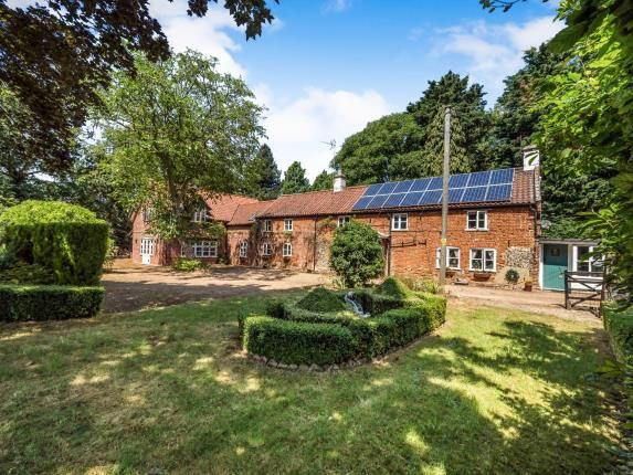 Thumbnail Detached house for sale in Buxton, Norwich, Norfolk