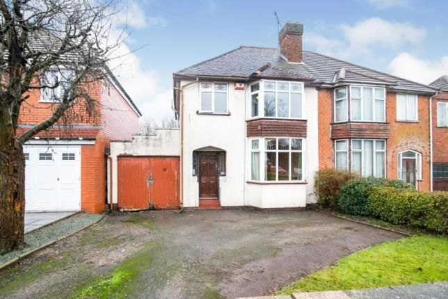 Thumbnail Semi-detached house for sale in Lindsworth Road, Birmingham, West Midlands
