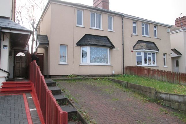 Thumbnail Semi-detached house to rent in Moseley Road, Bilston