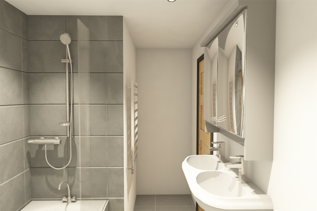 Bathroom of Spring Gardens, West Molesey KT8