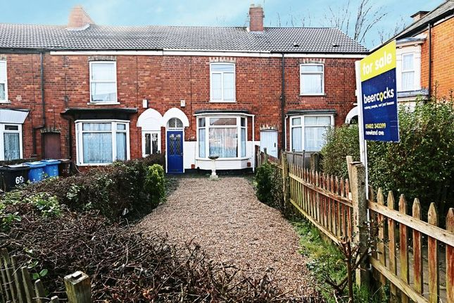 Thumbnail Terraced house for sale in Reynoldson Street, Hull