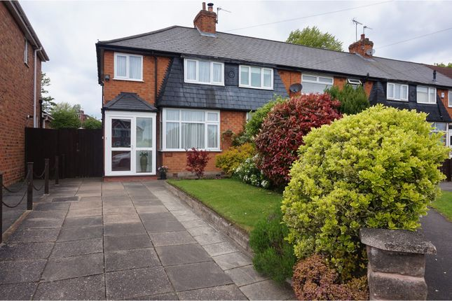 Thumbnail End terrace house for sale in Shalford Road, Solihull
