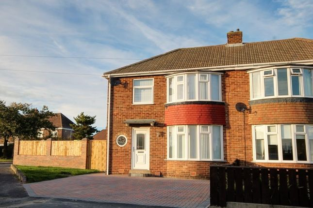 Thumbnail Semi-detached house for sale in Langdon Road, Westerhope, Newcastle Upon Tyne