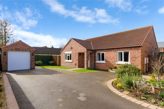 Thumbnail Detached bungalow for sale in Brisson Close, Grantham