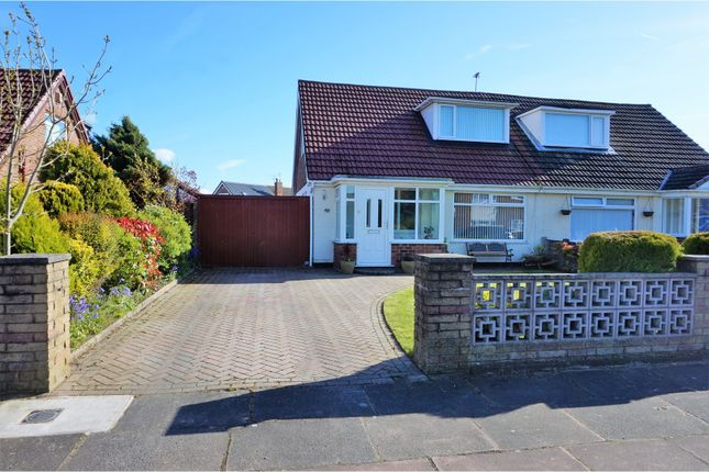 Thumbnail Semi-detached bungalow for sale in Woodvale Road, Southport
