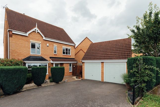 Thumbnail Detached house for sale in Saville Drive, Leicestershire, Sileby