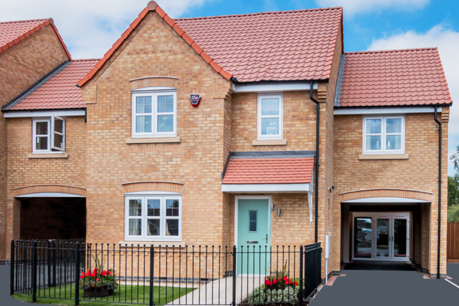 Thumbnail Detached house for sale in Station Lane, Asfordby
