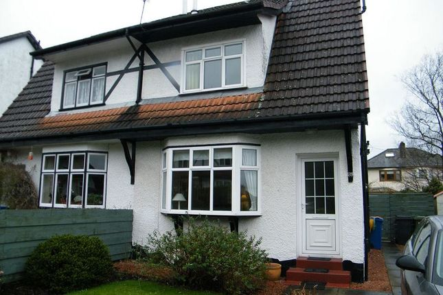 Thumbnail Semi-detached house to rent in Hawthorn Avenue, Bearsden, Glasgow