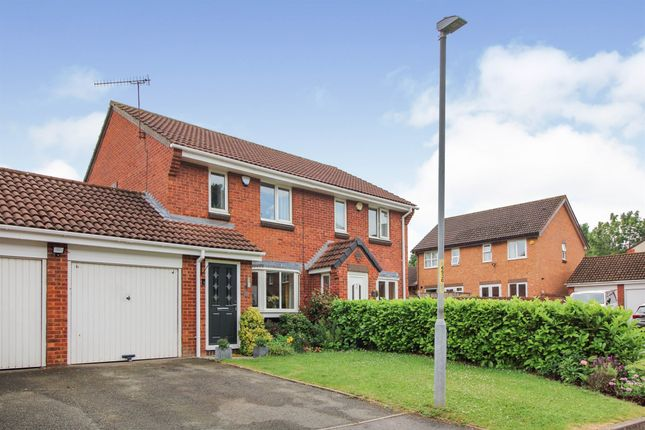 Thumbnail Semi-detached house for sale in Haze Croft, Lyppard Hanford, Worcester
