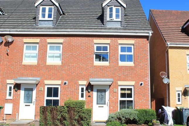 Thumbnail Town house for sale in Armoury Drive, Heath, Cardiff