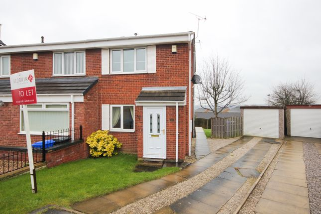 Thumbnail Semi-detached house to rent in Ralston Croft, Halfway, Sheffield