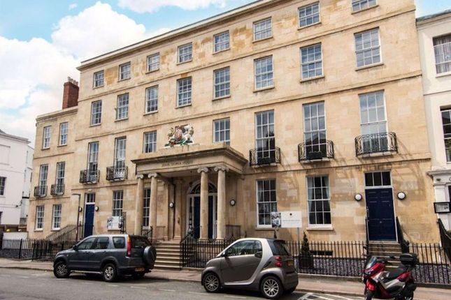 Thumbnail Flat to rent in Crescent Place, Cheltenham