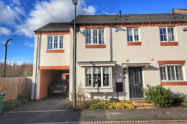 Thumbnail Semi-detached house for sale in Denby Bank, Marehay, Ripley