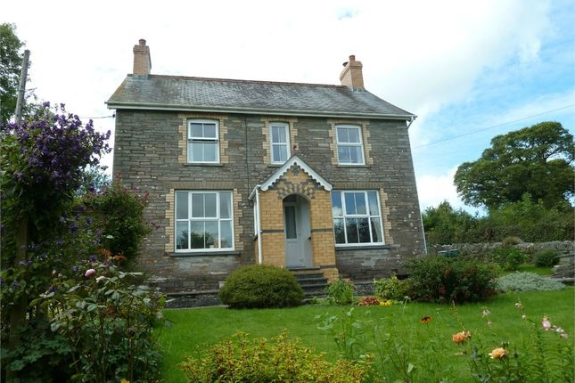 Thumbnail Detached house for sale in Gwalia, Glandwr, Whitland, Pembrokeshire