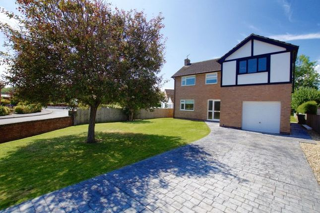 Thumbnail Detached house for sale in Overton Road, Bangor-On-Dee, Wrexham