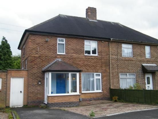 Thumbnail Semi-detached house to rent in Fernwood Crescent, Wollaton, Nottingham