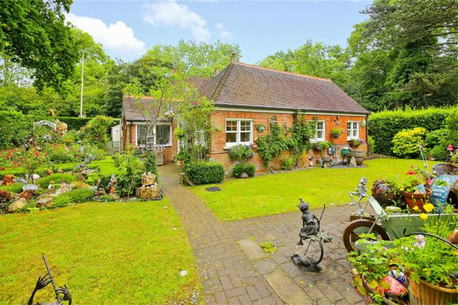 Thumbnail Detached bungalow for sale in Penniwells Lodge, Barnet Lane, Elstree