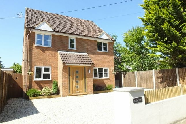 Thumbnail Detached house for sale in Church Road, Windlesham