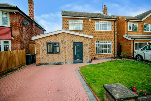 Thumbnail Detached house for sale in Rivergreen Crescent, Bramcote, Nottingham