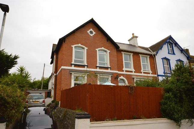 Thumbnail Semi-detached house for sale in Coombe Vale Road, Teignmouth, Devon