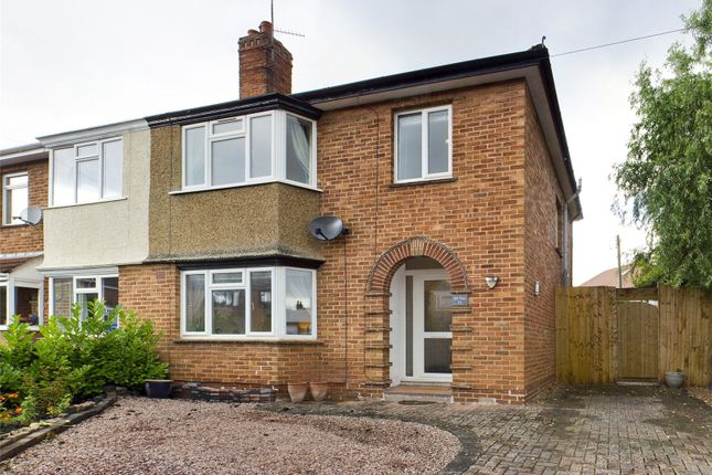 Thumbnail Semi-detached house for sale in Merrivale Crescent, Ross-On-Wye, Herefordshire