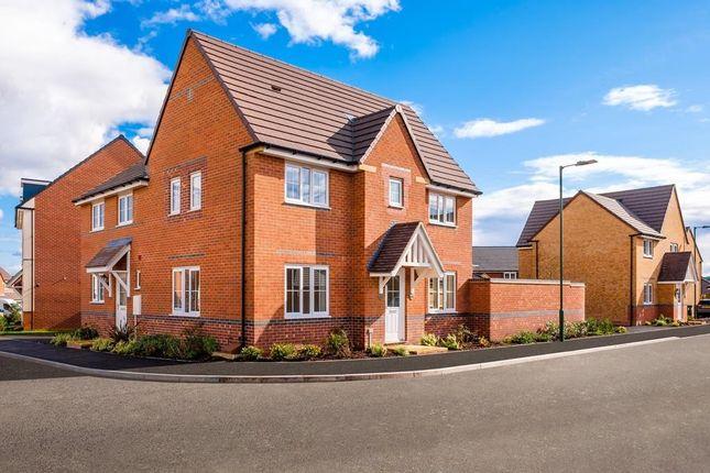 "Thumbnail Detached house for sale in ""Morpeth"" at Squinter Pip Way, Bowbrook, Shrewsbury"