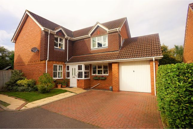 Thumbnail Detached house for sale in Wells Court, Saxilby, Lincoln