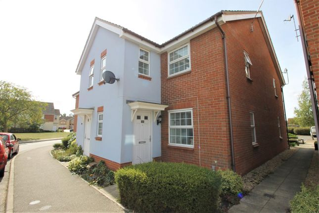 Thumbnail 2 bed property to rent in Wards View, Kesgrave, Ipswich, Suffolk