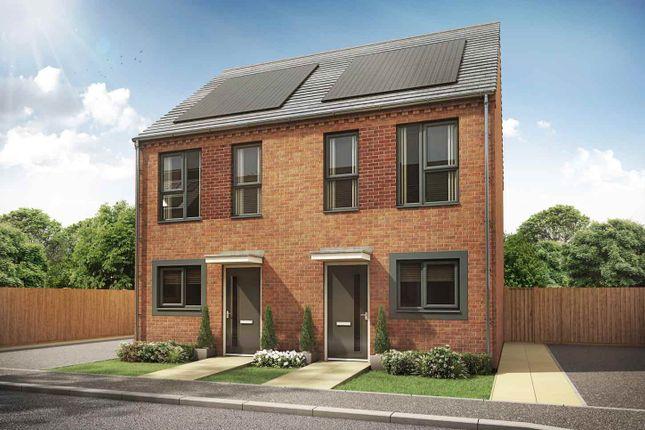"Thumbnail Terraced house for sale in ""The Ashton"" at Great Brickkiln Street, Wolverhampton"