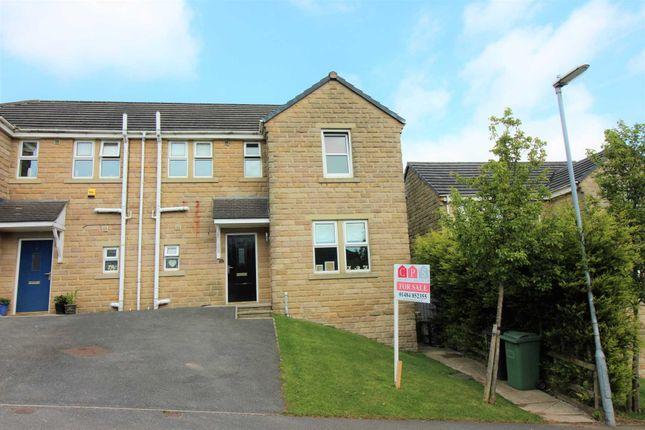 Thumbnail Semi-detached house for sale in Meadow Lane, Slaithwaite, Huddersfield