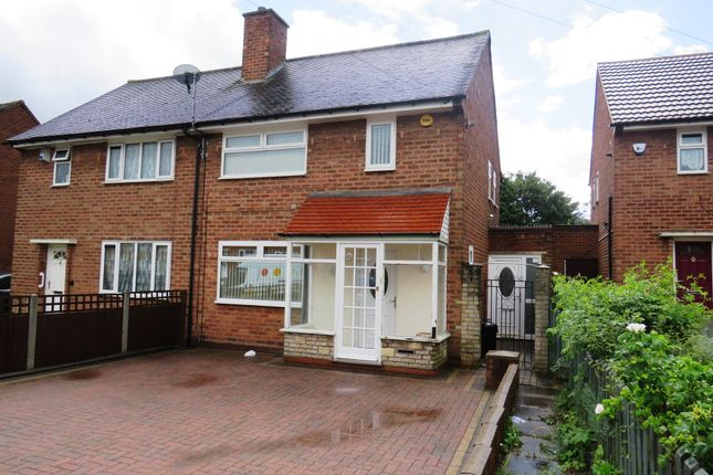 Thumbnail Semi-detached house for sale in Thistledown Road, Shard End, Birmingham