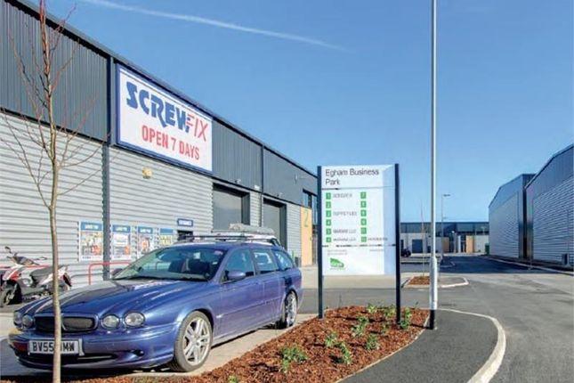 Light industrial to let in Unit 2, Egham Business Park, Ten Acre Lane, Egham, Surrey
