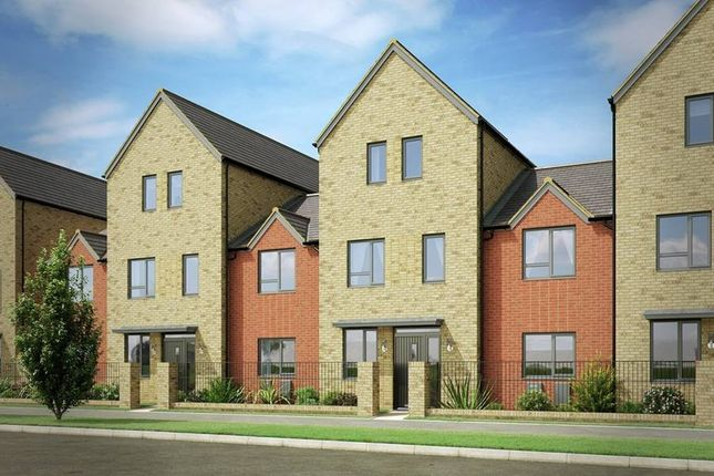 """Thumbnail Terraced house for sale in """"The Thornton"""" At Burlina Close, Whitehouse, Milton Keynes MK8, Milton Keynes,"""