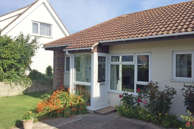 Thumbnail Terraced bungalow to rent in Manor Court, Manor Way, Elmer, Bognor Regis