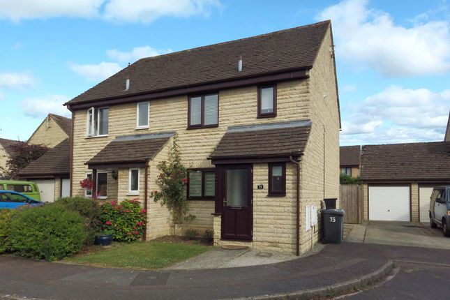 Thumbnail Semi-detached house to rent in Cogges Hill Road, Witney, Oxfordshire