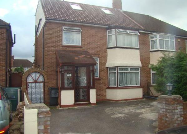 Thumbnail Semi-detached house for sale in Bexhill Close, Feltham