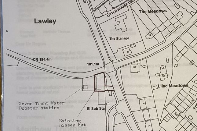 Thumbnail Land for sale in Lawley Village, Telford