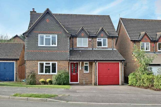 Thumbnail Detached house for sale in Foxs Furlong, Chineham, Basingstoke