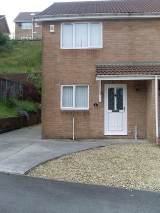 Thumbnail Semi-detached house to rent in Sweetwater Park, Merthyr Tydfil