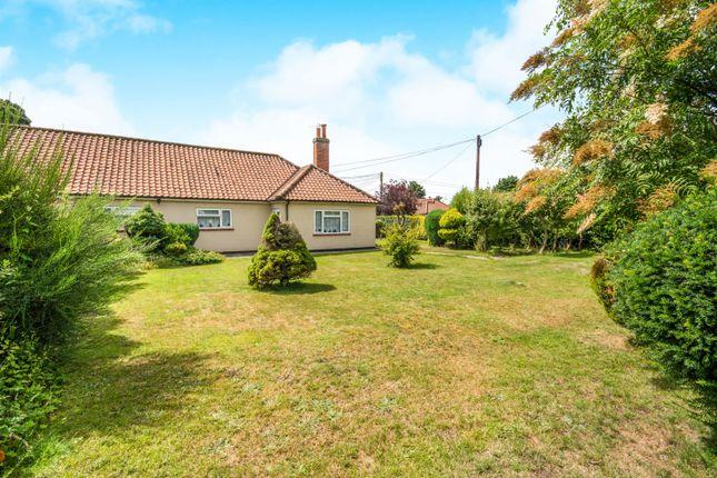 Thumbnail Semi-detached bungalow for sale in Glebe Close, Hingham, Norwich