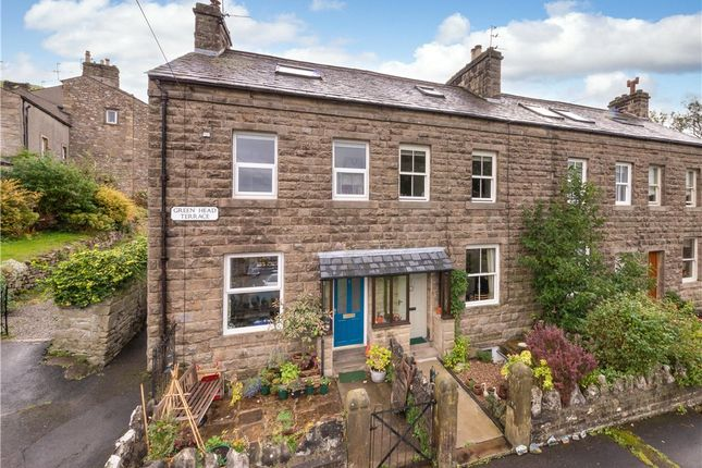 Thumbnail End terrace house for sale in Green Head Terrace, Settle, North Yorkshire