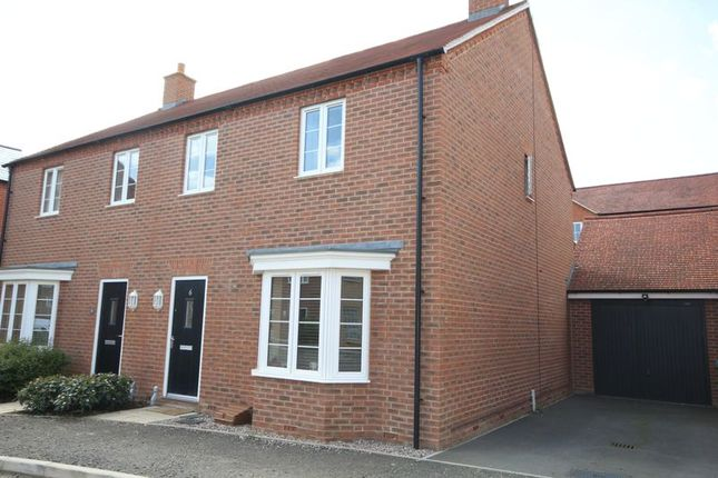 Thumbnail Semi-detached house to rent in Catchpin Street, Buckingham