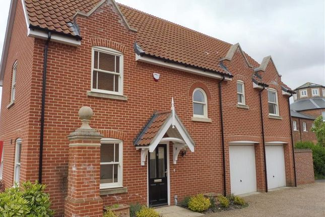Thumbnail Detached house for sale in Mill Lane, Aylsham, Norwich