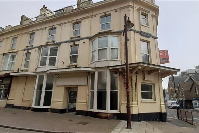 Thumbnail Retail premises to let in Marine Place, Seaton, Devon