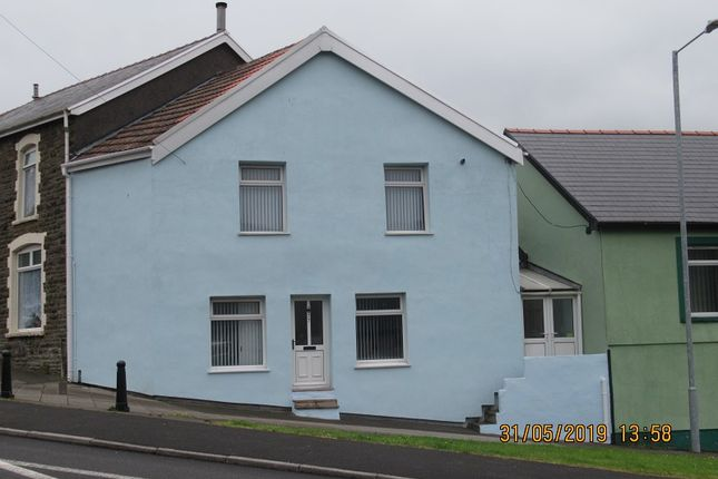 Thumbnail End terrace house to rent in Treharne Road, Maesteg, Bridgend.