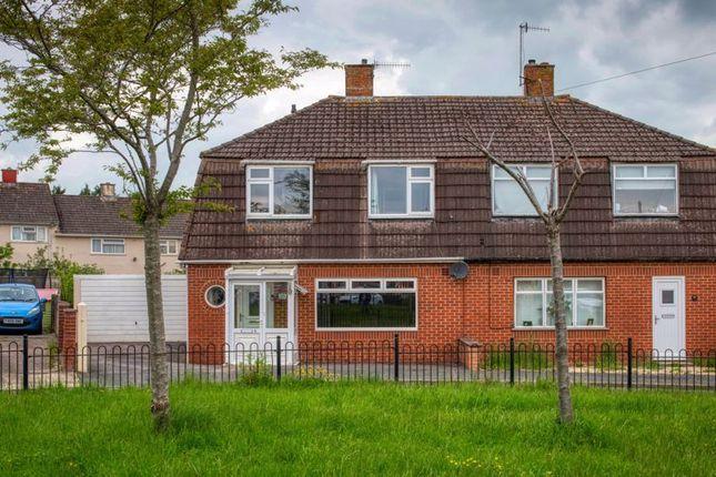 Thumbnail Semi-detached house for sale in Fulford Walk, Bishopsworth, Bristol