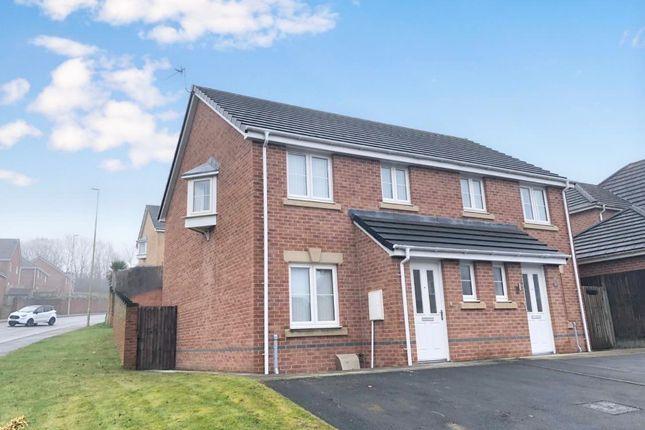 Thumbnail Property to rent in Heritage Way, Llanharan, Pontyclun