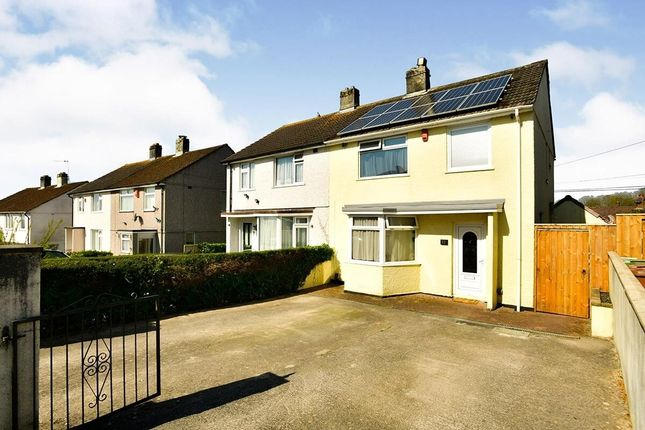 3 bed semi-detached house to rent in Kedlestone Avenue, Plymouth PL5