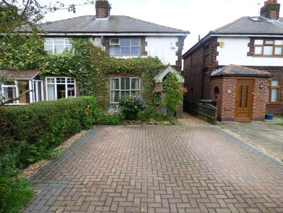 Thumbnail Semi-detached house for sale in Mill Lane, Houghton Green, Cheshire, Warrington